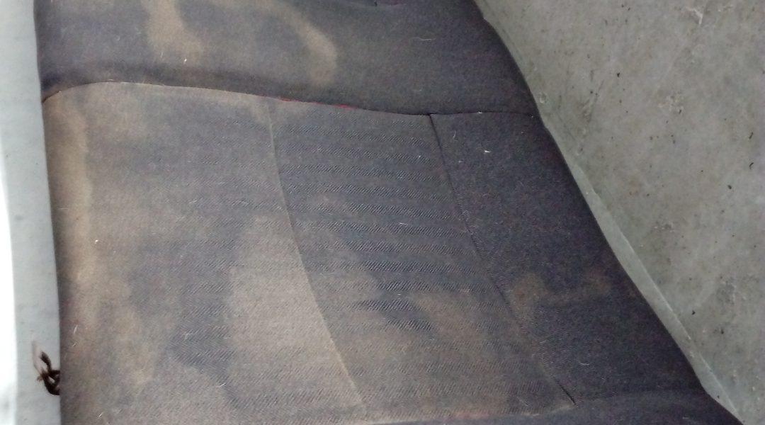 пятна от дорожной пыли и грязи