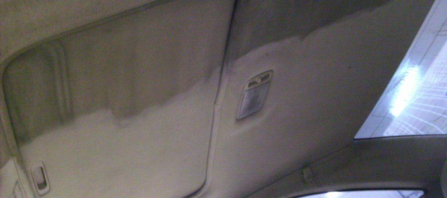Эффект от чистки потолка