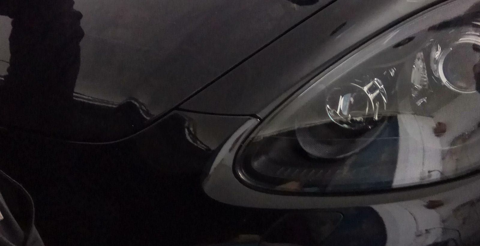 снятие плёнки с Porsche Cayenne