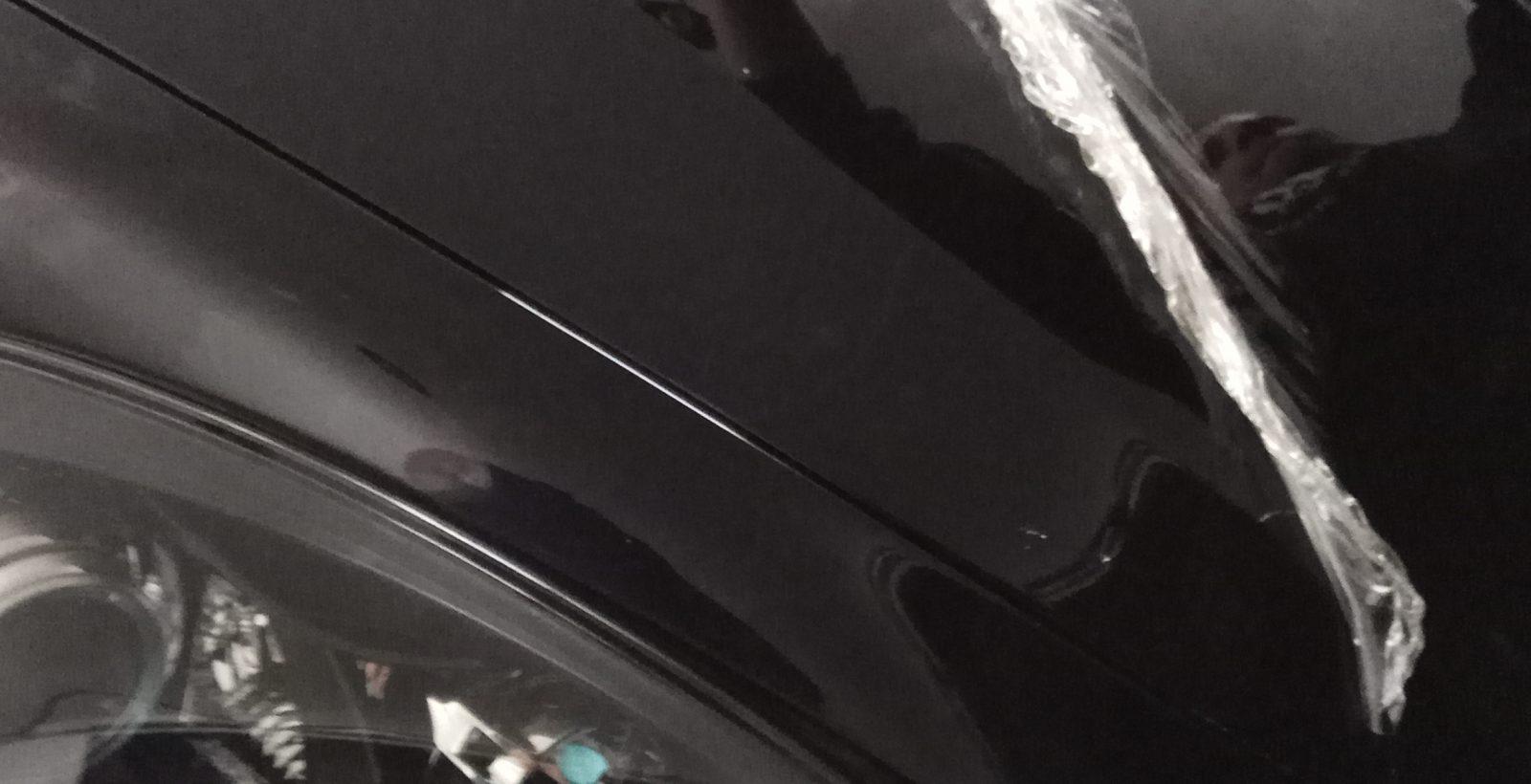 снятие плёнки Porsche Cayenne