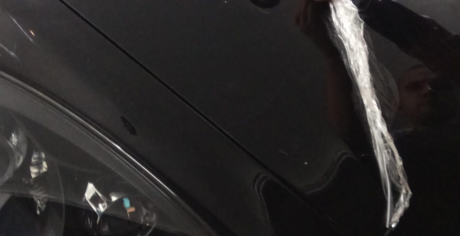 Porsche Cayenne снятие пленки